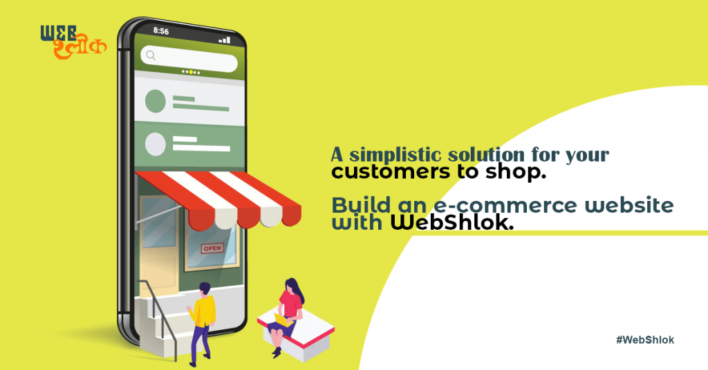 Ecommerce - One-click solution to digitally transform your business.