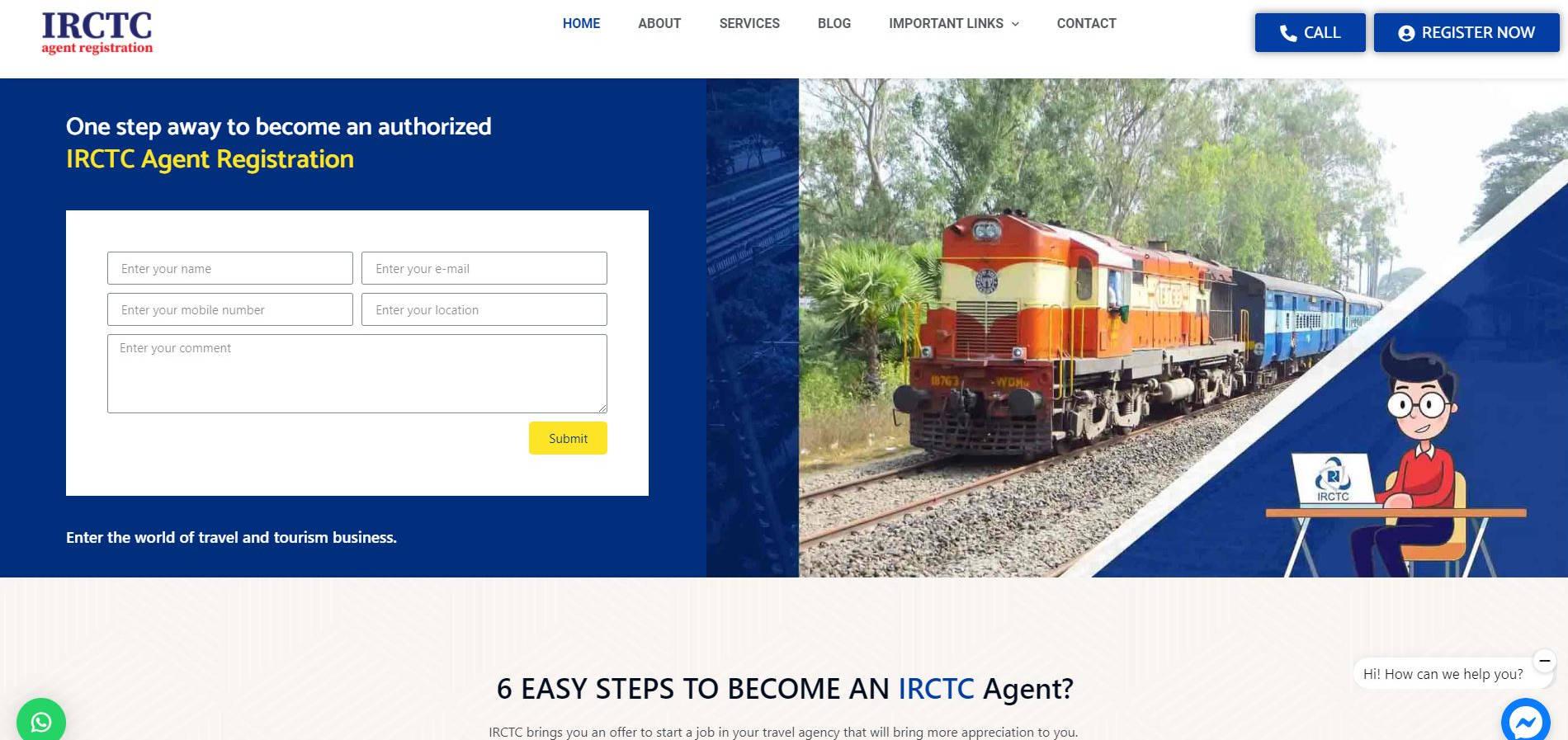 IRCTC Portfolio